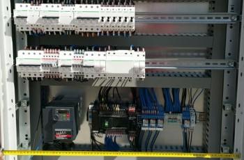 Impianti elettrici in opificio industriale