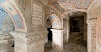 Impianto sanificazione aria Cripta San'Agnese in Agone